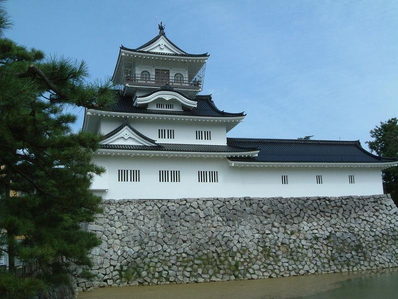 富山城(別名:安住城)