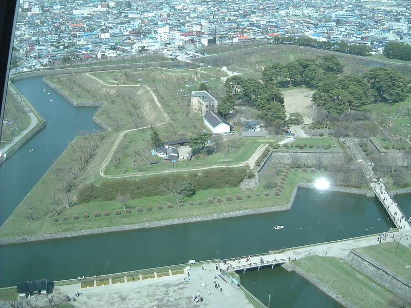 五稜郭(別名:柳野城)